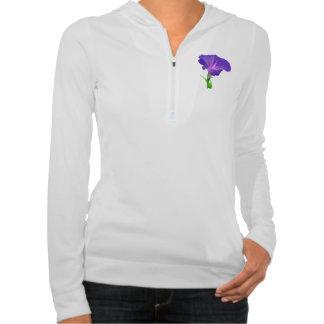 Floral Garden Park Peace Love Hooded Sweatshirt
