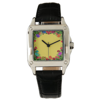 Floral Garden Woman's Watch