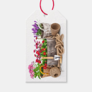 Floral / Gardening / Flowers Business Gift Tag