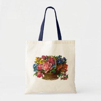 Floral/Gardening Tote Bag