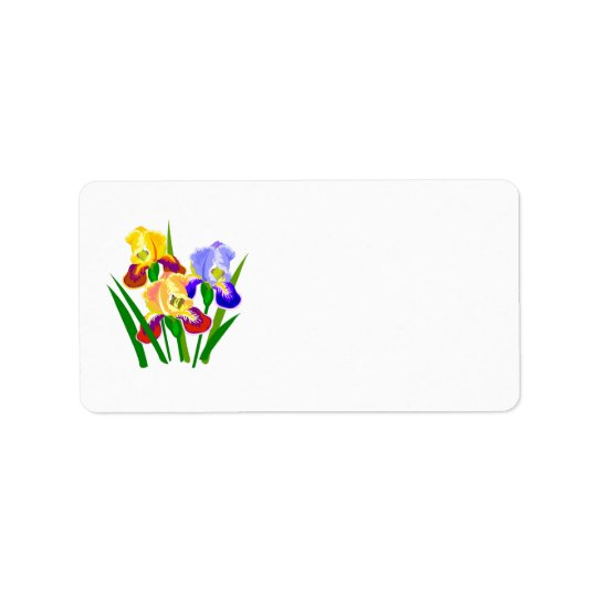Floral Gifts Address Label