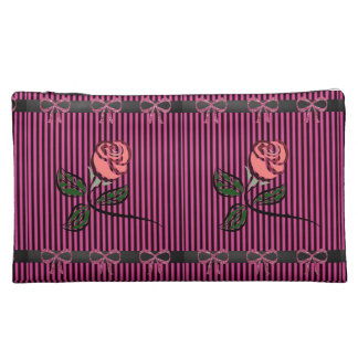 floral girls baggette cosmetic bag
