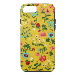 Floral Girly Summer Yellow Tiny Flowers Flora iPhone 8/7 Case