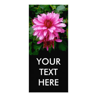 Floral Glory Personalized Rack Card