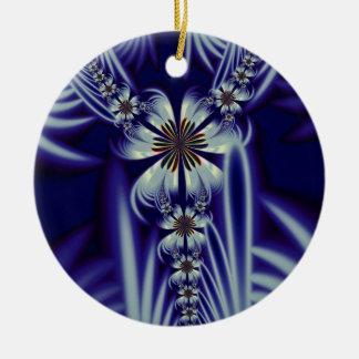 Floral Gown Ornament