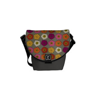 Floral Graffiti Courier Bags