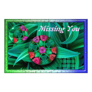 Floral, Graphic Art Staionary Customized Stationery