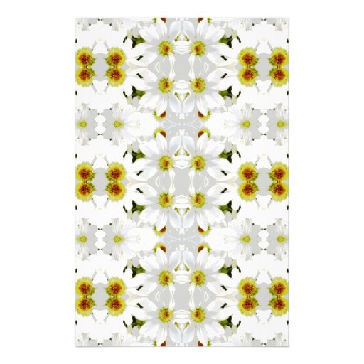 Floral Graphic Pattern Design. Custom Flyer
