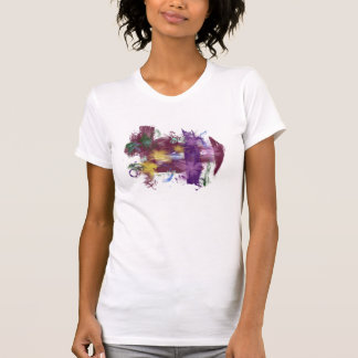 floral grunge tee shirt