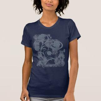 Floral Grunge Shirt