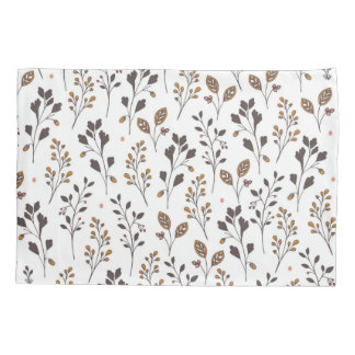 Floral hand drawn pattern   Doodle art Pillowcase