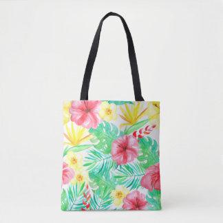 Floral, Hawaiian Themed Bag