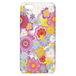 Floral Heart iPhone Case 4 Cover For iPhone 5C