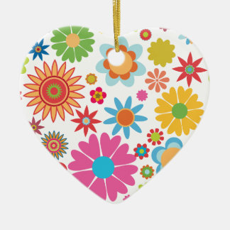 Floral Heart Ornament