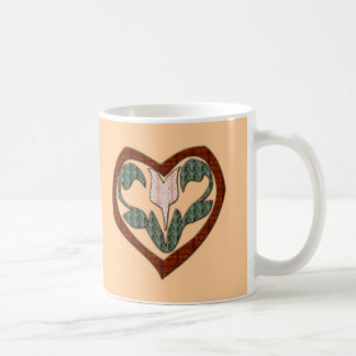 Floral Heart T-shirts and Gifts Mugs
