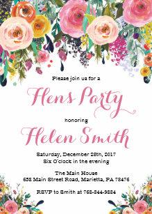 hens party invitations zazzle com au