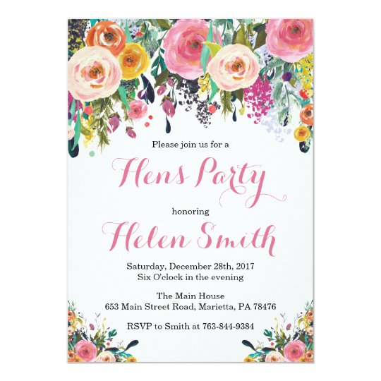 Hens Party Invitations Newsinvitation Co