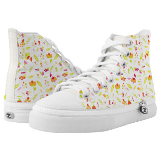 Floral High tops