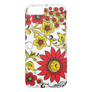 Floral Hohloma iPhone 7 Case
