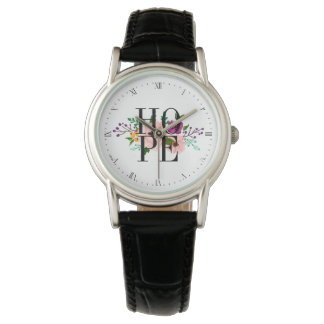 Floral HOPE Watch