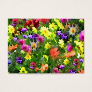 Floral Impressions ATC
