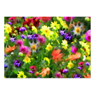 Floral Impressions ATC Pack Of Chubby Business Cards