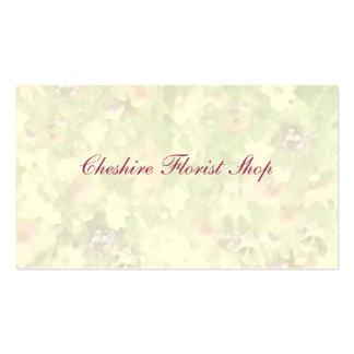 Floral Impressions Florist Pack Of Standard Business Cards