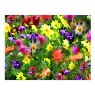 Floral Impressions Postcard