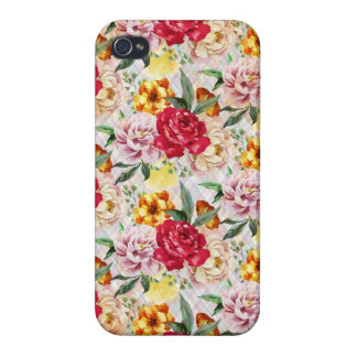 Floral iPhone 4 Glossy Finish Case iPhone 4 Case