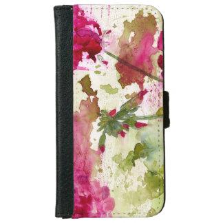 floral iphone 6/6s wallet case