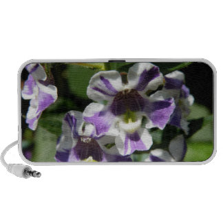 Floral iphone ipad Tech Speakers