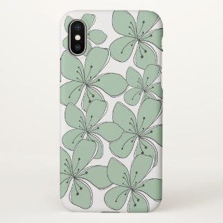 Floral  iPhone X Matte Case