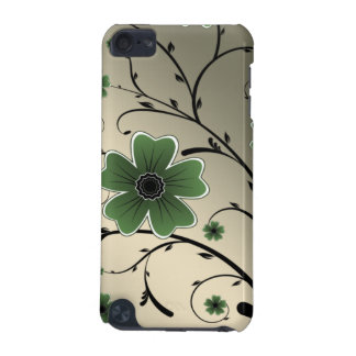 floral ivory green iPod touch 5G case