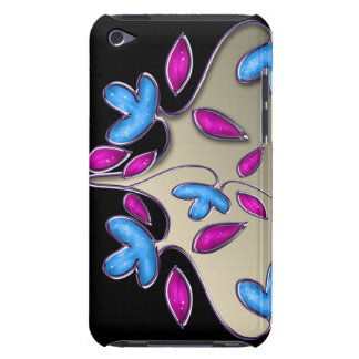 floral ivory pink iPod touch Case-Mate case