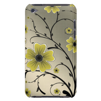 floral ivory yellow iPod Case-Mate case