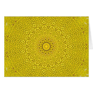 Floral jackfruit scale like pattern card
