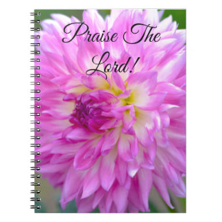 Floral Journal: Praise the Lord! Notebook
