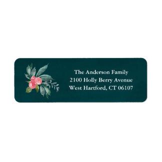 Floral Joy Return Address Labels