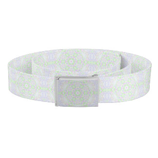 Floral Kaleidoscope 2 Belt