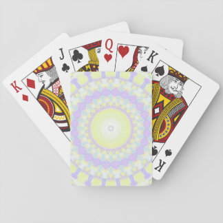 Floral Kaleidoscope Playing Cards