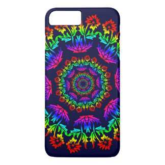 Floral Kaliedoscope iPhone 7 Plus Case