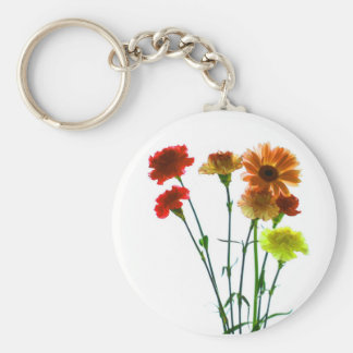 floral keychain