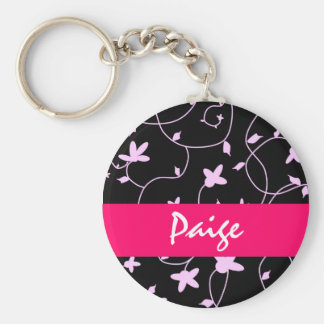 Floral Keychain - Personalize it!