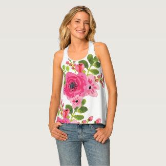 Floral Ladies Tank