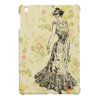 Floral Lady iPad Mini Case