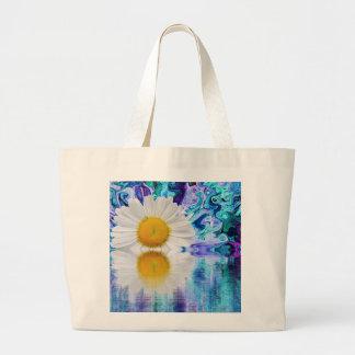 floral large tote bag