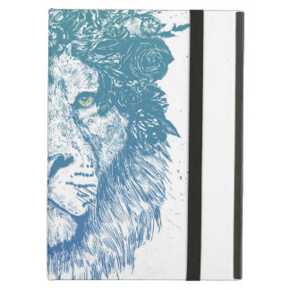 Floral lion case for iPad air