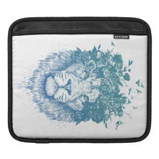 Floral lion sleeve for iPads