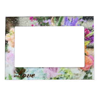 Floral Love Photo Frame