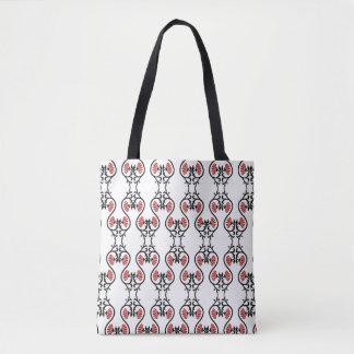 Floral Lungs Tote bag